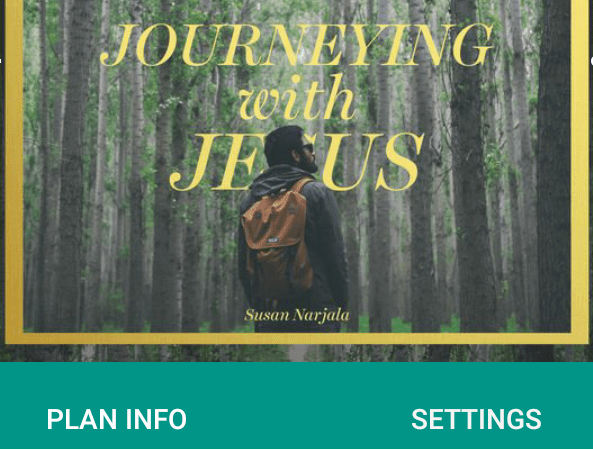 Image. Journeying with Jesus - 40 Day Lent Devtional