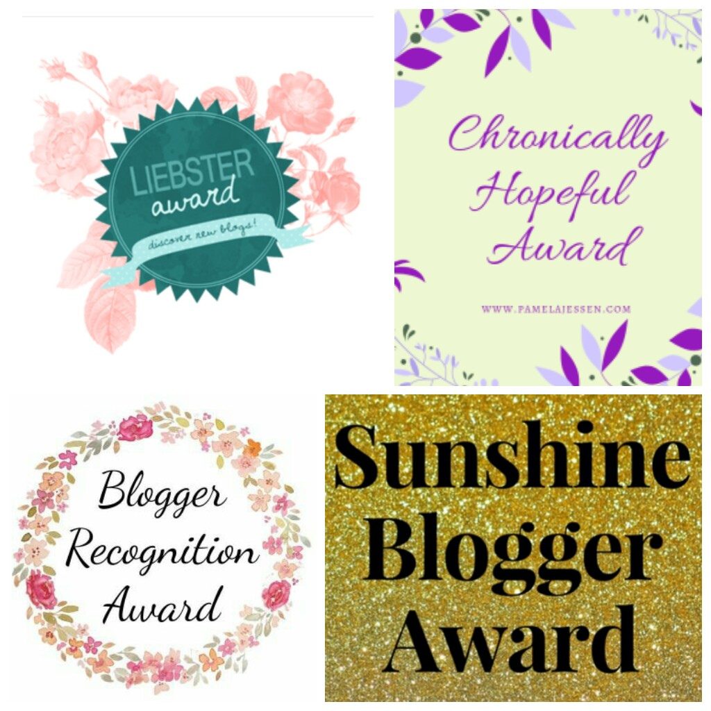 Blogging Awards & Nominations