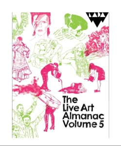 Book Cover - Live Art Almanac Volume 5
