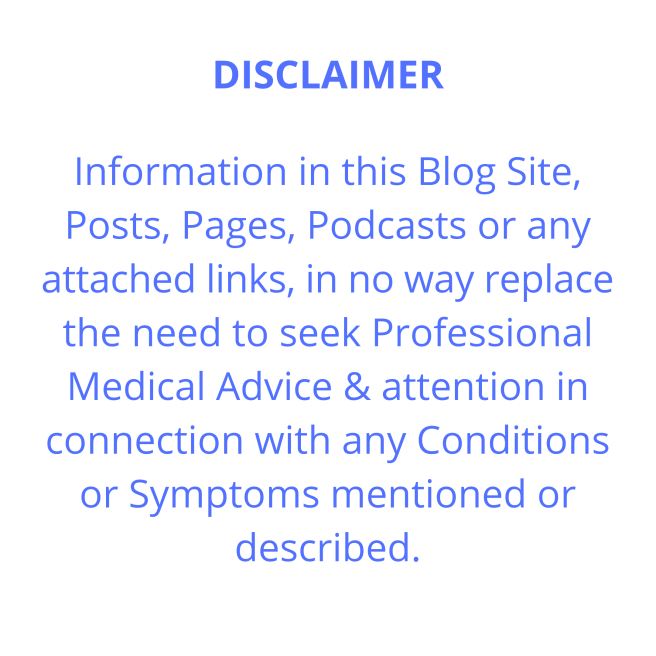 Disclaimer for this website