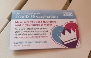 Covid19 Vaccination Card