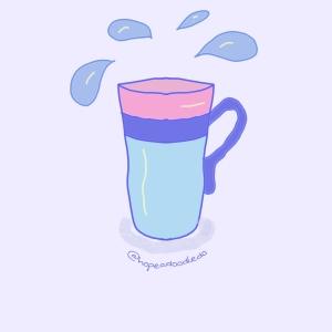 A mug of water