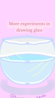 More experiments in drawing glass